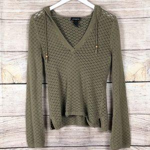Athleta | Crochet Knit Sweater